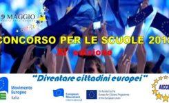 """Al via XI edizione del Concorso """"Diventare cittadini europei""""!"""