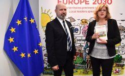"""Bonaccini alla Commissaria Cretu: """"insieme per sostenere politica di coesione"""""""