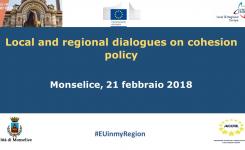 """In Veneto il primo """"dialogo sulla Coesione""""!"""