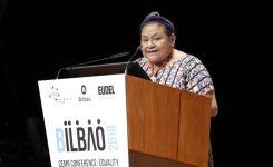 """Conferenza Bilbao, Apre la Menchu'. Bonaccini: """"Carta uguaglianza CCRE firmata da 1700 enti locali"""""""