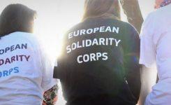 Corpo europeo di solidarietà: ecco il bando comunitario