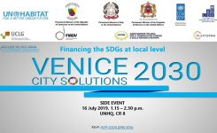SDGs, High level forum: AICCRE a New York con il Governo italiano per…