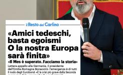 """Bonaccini: """"basta egoismi o sarà la fine dell'Europa"""""""