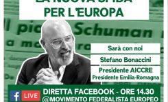 """Festa Europa, Bonaccini: """"rilanciare Europa con enti locali protagonisti"""""""