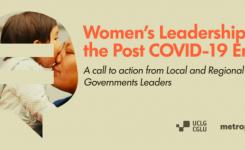 UCLG: uguaglianza di genere resti centrale nell'era post-Covid-19