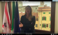 FESTA DELL'EUROPA:IL VIDEO-MESSAGGIO DI ILARIA BUGETTI