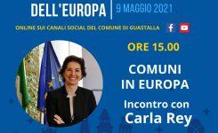 FESTA DELL'EUROPA: INCONTRO CON CARLA REY PER PARLARE DEL NOSTRO FUTURO
