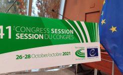 CPLRE: dal 26 ottobre la 41a sessione. Presente la delegazione  italiana guidata da AICCRE